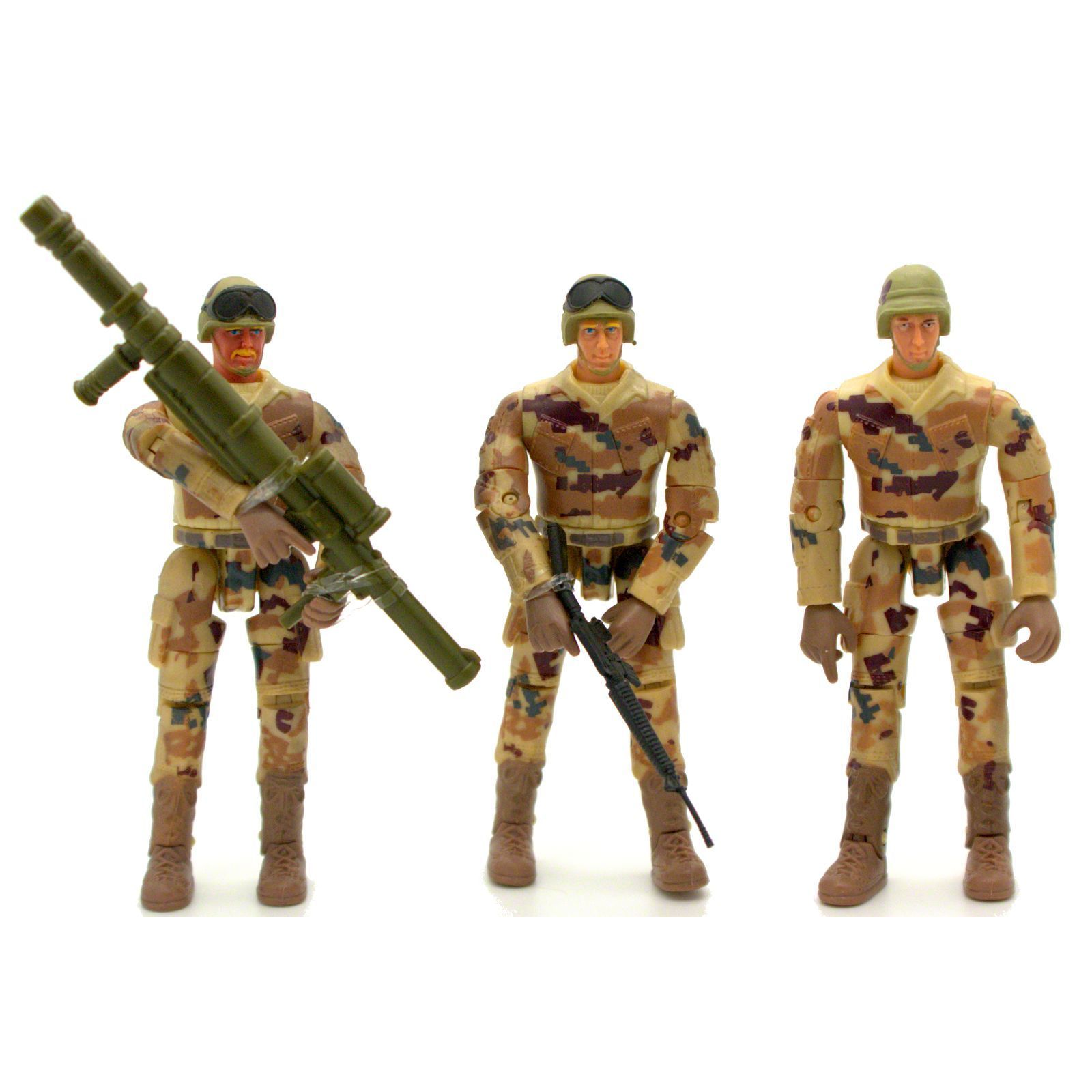PeaceKeepers Military Defence Unit Toy Playset